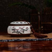 特价包邮包邮 送礼盒茶具储茶器存茶醒茶罐普洱罐大号如意茶叶罐