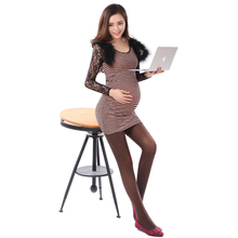 New product's belly pregnant women tights sub paragraphs in the summer of the spring and autumn period and the thin adjustable trample feet big yards Pregnant women socks in the spring and autumn