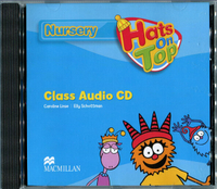 幼儿英语教材学生书启蒙 Hats on top nursery class audio CD