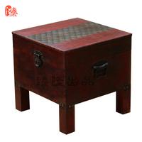 两件包邮 家庭换鞋凳中式古典独立箱子储物实木板凳收纳实木凳