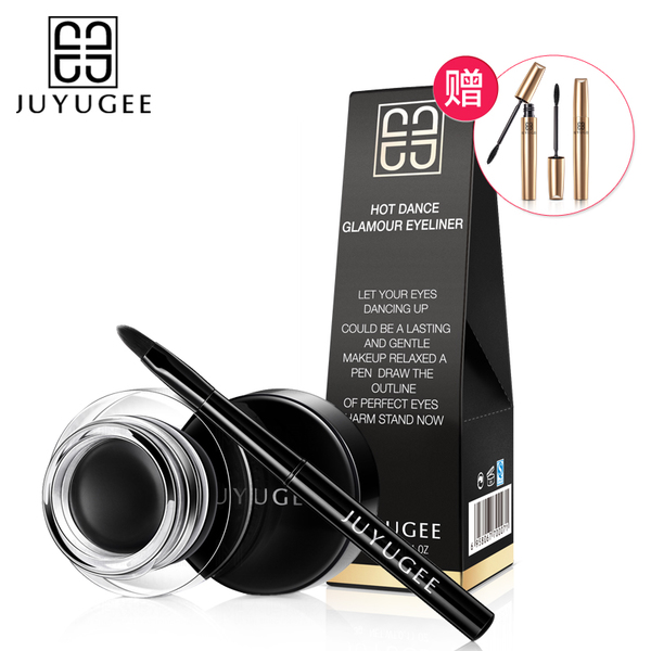Recommended eyeliner makeup goddess Li Mengying thick black eyeliner lasting waterproof eyeliner is not blooming