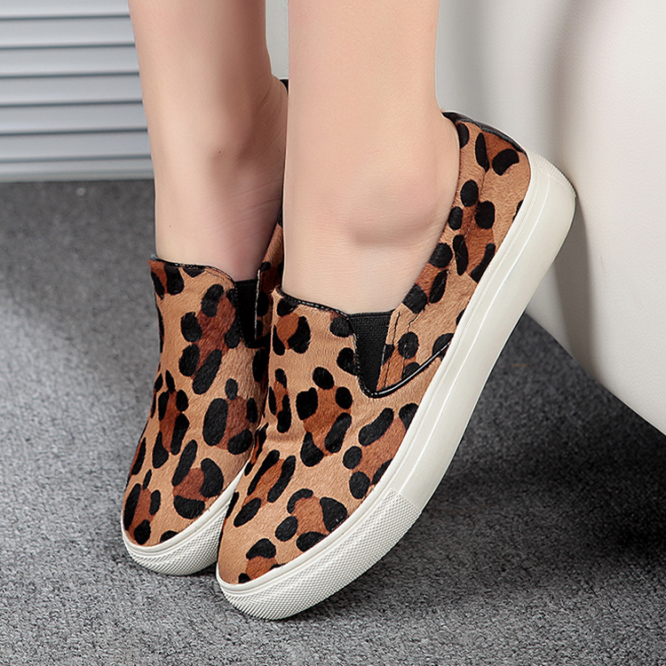 Fall Yang Mi with women's shoes casual shoes really Pima hair Carrefour low-heeled shoes women shoes flat shoes female foot