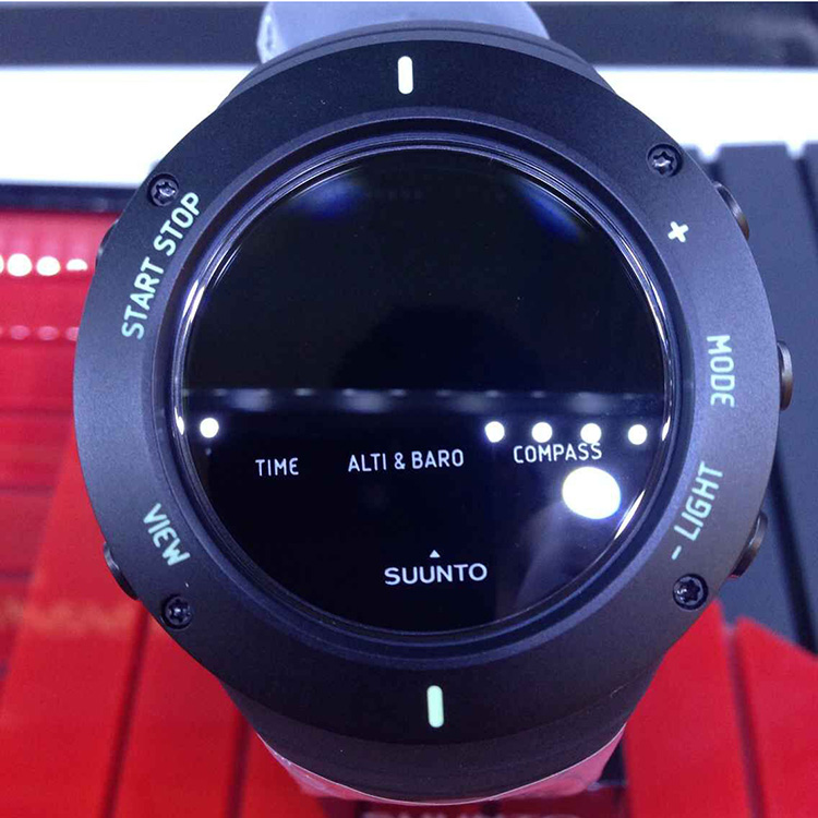 【正品】颂拓松拓SUUNTO CORE ULTIMATE BLACK 核心纯黑新品上市
