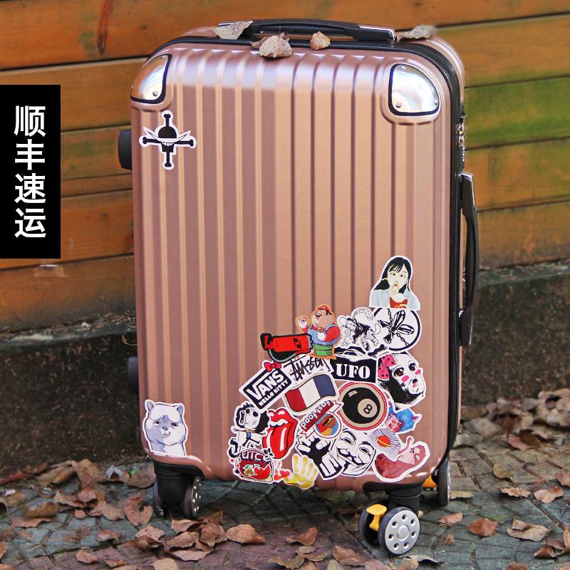 行李箱万向轮登机硬箱20寸28寸密码箱子旅行拉杆箱学生皮箱男女潮