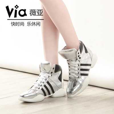 VIA Wei Ya D52 European stations new winter sports high-top lace trend increased casual shoes genuine