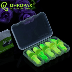 预售 德国OHROPAX Mini Soft隔音耳塞防噪音女士睡觉睡眠用防呼噜