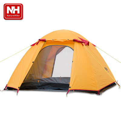 Naturehike-NH 2-4 double bunk camping tent outdoor tent against storm Pole 3-4