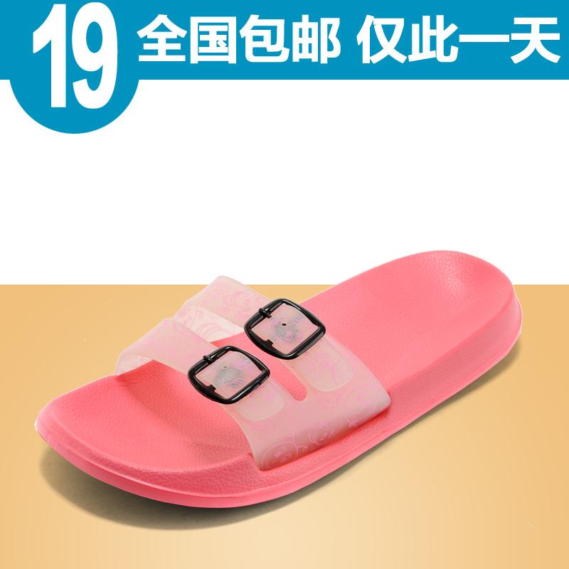 雷卡多 2014夏季新款情侣拖鞋 潮流凉拖鞋 韩版休闲沙滩鞋 包邮