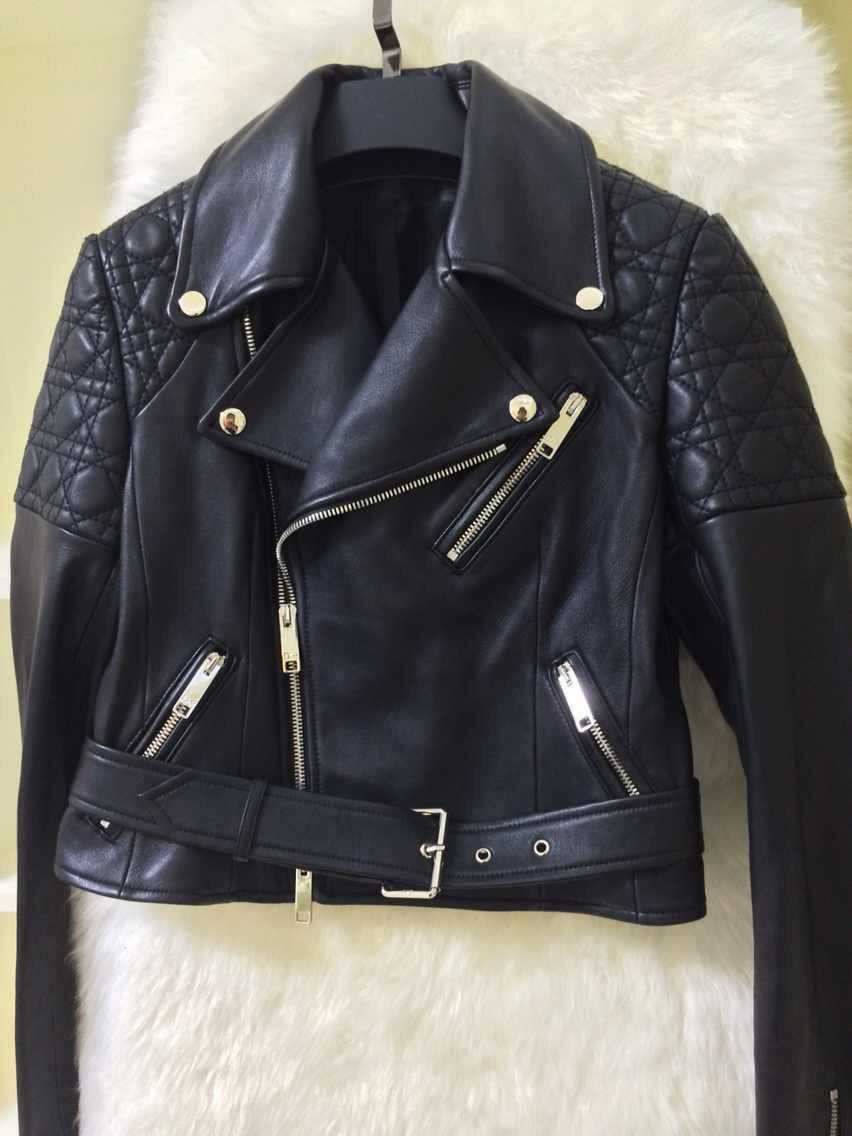 кожаные куртки кристиан диор фото