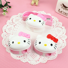 【优百分】Hello Kitty卡通多功能文具 卷笔刀+橡皮擦二合一组合