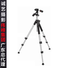 Authentic weifeng 666 professional tripod WT - 666 steel pipe professional SLR camera universal tripod