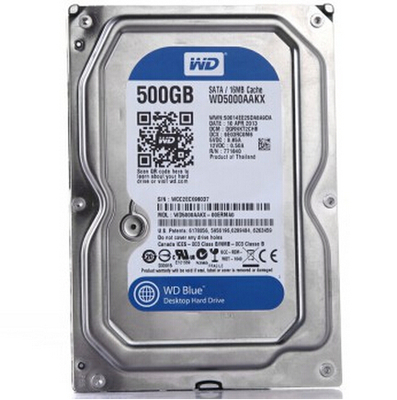 Original WD / Western Digital WD5000AAKX 500G blue plate 7200 16M cache SATA3 generation serial