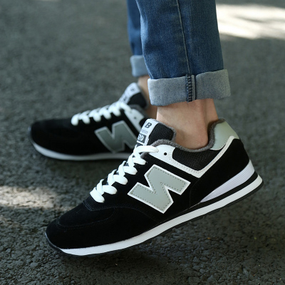 Plus velvet warm winter padded shoes N word sports shoes couple Korean men and women canvas shoes tide shoes NB