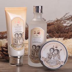 上海女人经典国货精品护肤套装洗面奶/爽肤水/雪花膏冬季补水正品