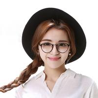 超轻抗蓝光眼镜圆形全框女防辐射电脑护目镜女潮镜眼睛个性小圆架