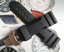 PAM111 boat-fruited sterculia substitute rubber strap. 24 mm  26 mm, dust-proof and sweat pei na sea silicone strap