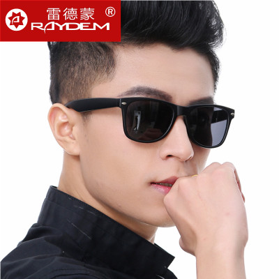 Authentic sunglasses for men and women the influx of people driving mirror driver NVG big box black super retro glasses sunglasses for men