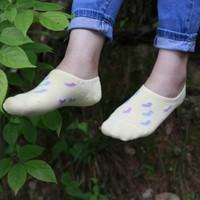 女士纯棉袜子白色女春夏筒短袜wazi可爱超浅口韩国隐形袜船袜包邮
