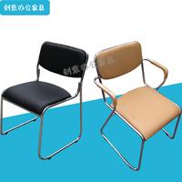 办公椅子电脑椅会议椅职工椅员工椅子特价皮椅黑色米色培训椅