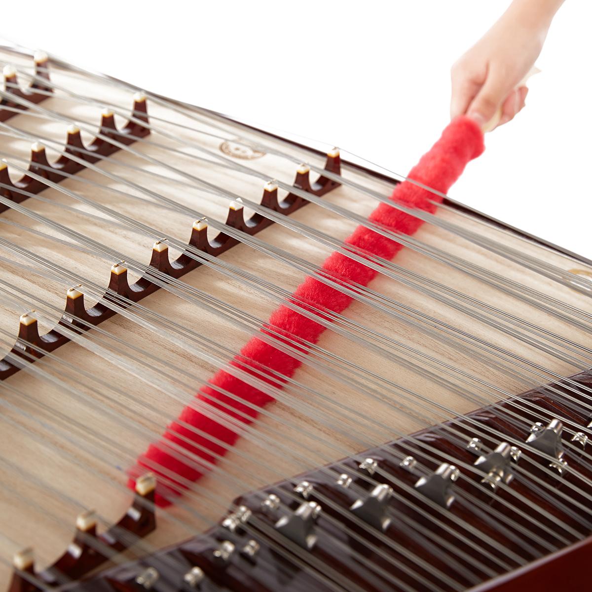 乐海乐器扬琴刷清洁刷扬琴配件扬琴面板除尘毛毛掸子除灰尘器琴刷