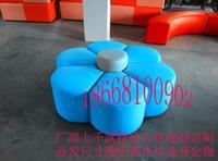 太阳花瓣凳大厅娱乐休息凳异形沙发凳商场休闲凳手机店等候休息凳