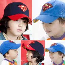 宝宝帽子婴儿鸭舌帽儿童棒球帽韩版男女童太阳帽婴幼儿潮帽超人