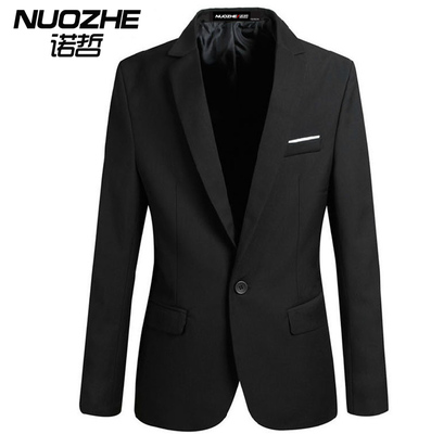 Nuozhe New England men's fashion casual suit jacket Men teenagers Korean version of Slim small suit