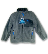 The original single export SNOZU boys polar fleece fleece outdoor zipper velvet Chinese fir coat's official website