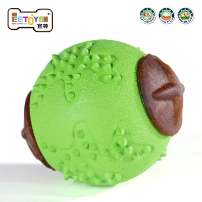 EETOYS IST Pet Dog Toys spherical card tableware drain food puzzle molar tooth cleaning can be loaded snacks