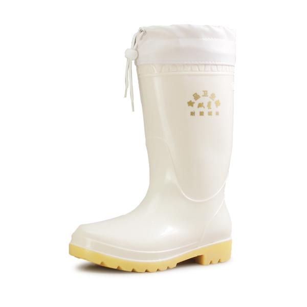 Binary anti-acid food hygiene oil barrel rain boots boots boots boots white kitchen dedicated