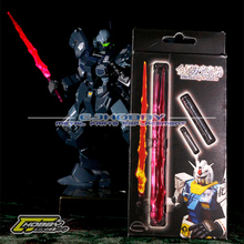 1/100 MG metal plating lightsaber suit gundam is as high as the gm model