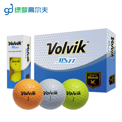 Volvik Golf DS77 two white golf ball Korea imported green dream golf