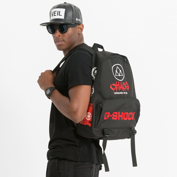 VEIL 合作 G-SHOCK CHAOS Backpack 双肩背包