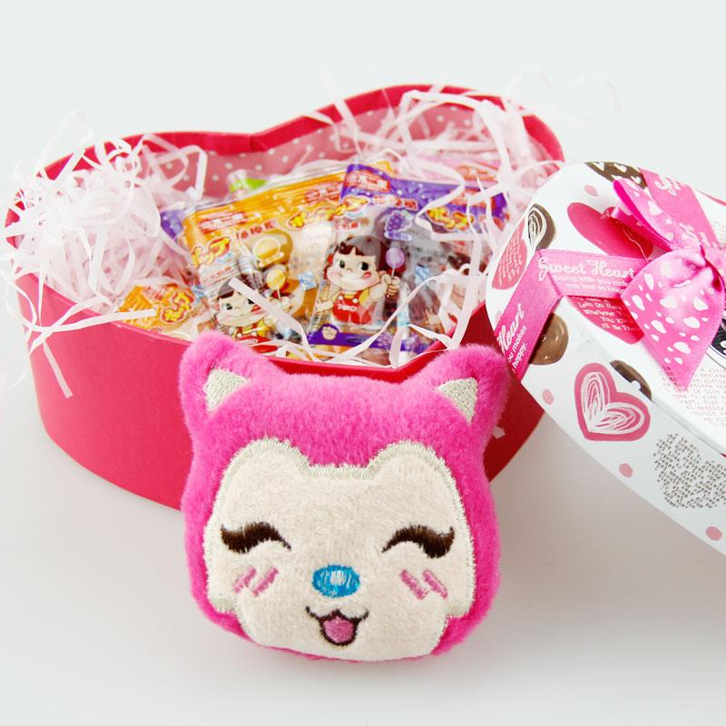 【知心奶奶_棒棒糖礼盒】不二家 心形盒装   顺丰包邮