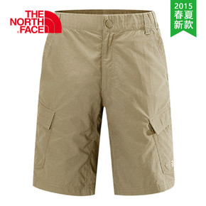 【2015春夏新款】THE NORTH FACE/北面 男款速干短裤-M CFY6