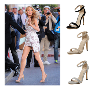 2015 summer women beach sandals sexy high heels casual shoe