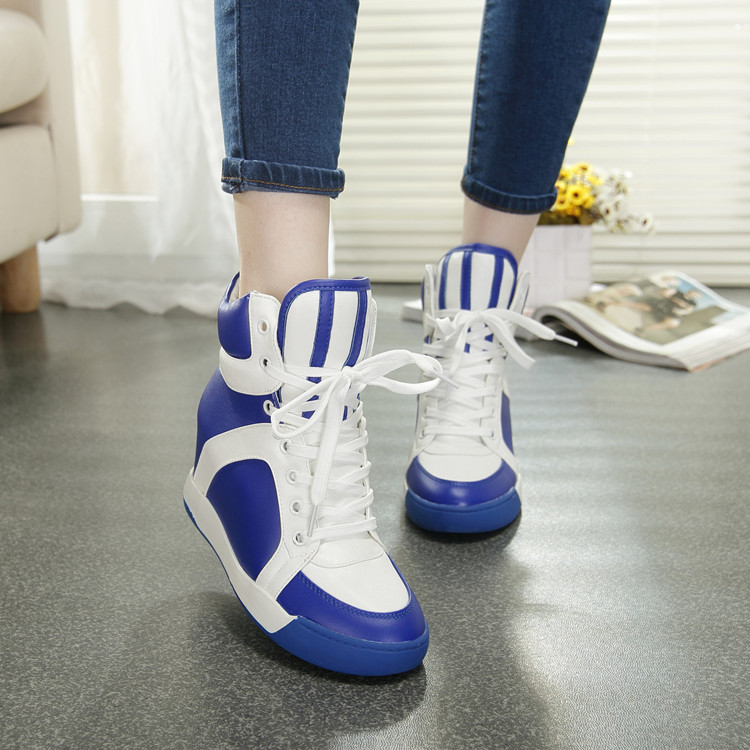 Increased women's shoes fashion shoes casual shoes muffin within 2014 new heavy-bottomed shoes high shoes