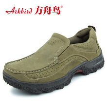 The new 2015 during the spring and autumn low ark bird men's fashion shoes leather BangTao feet shoes everyday casual shoes 8887
