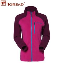 2014秋冬新款Toread/探路者可套穿抓绒服保暖抗静电TACC92672