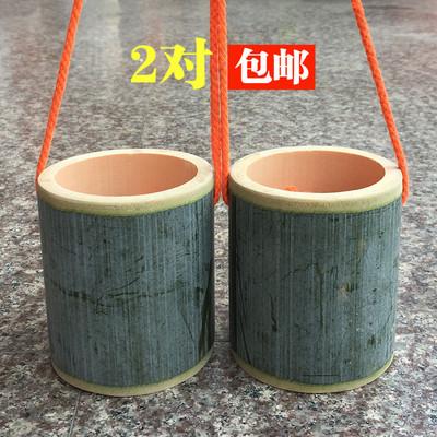 竹筒高跷/竹子高跷竹玩具/幼儿园儿童平衡训练器材/踩高翘特价图片
