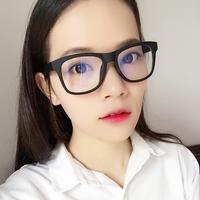 防辐射眼镜女平光镜眼镜男电竞电脑手机蓝光护目平面镜无度数大框