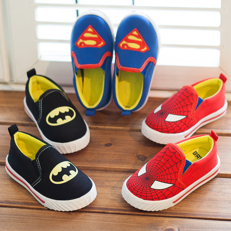 Export fall new Korean children's shoes girls shoes boys Peas personality tide shoes casual shoes canvas shoes