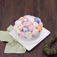 生日蛋糕沈阳市内配送鲜花朵朵水果蛋糕夹心A款花3007