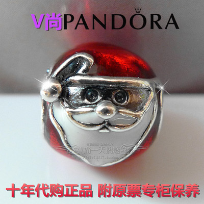 Purchasing counters authentic Pandora / Pandora 925 silver beaded 2014 Santa 791405ENMX