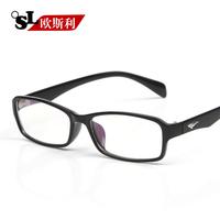 欧斯利大框复古眼镜框 男士大脸近视镜框 超轻成品近视眼镜女款