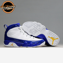北卡大学 Air Jordan 9 Lakers AJ9 乔9 旅行黄 白紫金302370-121