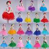 可爱女装小女生公主裙蓬蓬裙六一儿童节舞台表演韩国女童演出服装