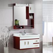 浴室柜组合PVC洗漱台现代中式洗脸盆面盆梳洗柜卫生间卫浴柜吊柜