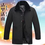中老年棉衣男冬装外套加厚爸爸装保暖棉服老年人加绒棉袄大码男装