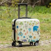 春秋登机箱小型行李箱迷你拉杆箱16寸学生14寸密码旅行箱男女韩版